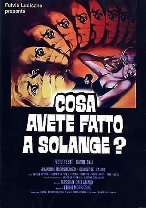 Cosa avete fatto a Solange poster