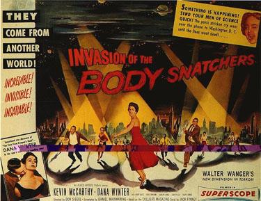 Fantastik Sinemada Psikoanalitik Kavramlar 1 – invasion of the body snatchers
