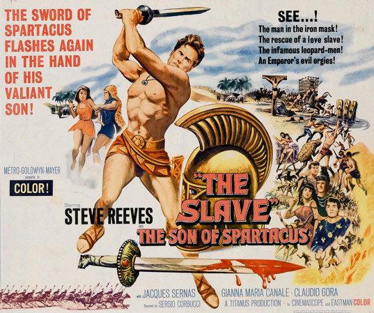 Thulsa Doom Aslında Kimdir? 1 – Slave Steve Reeves Wide Poster REDO2