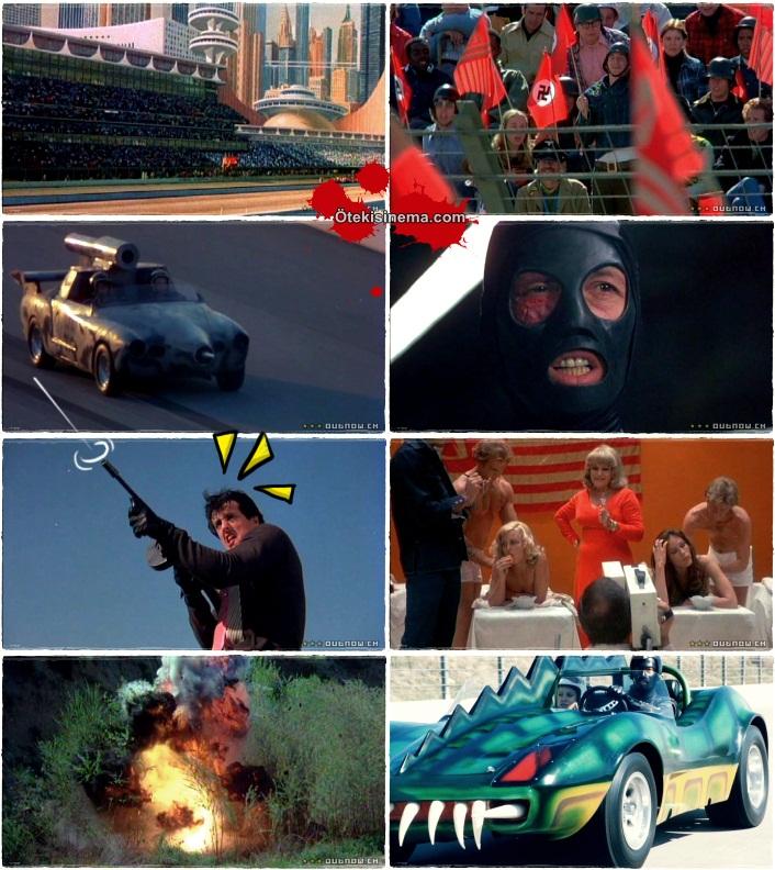 death race scenes