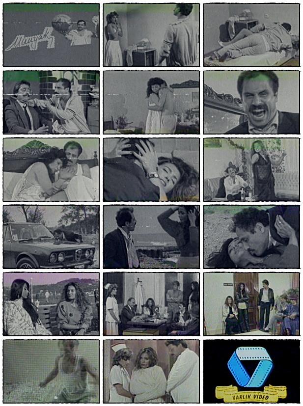 manyak Manyak (1986) Varlık Film Selma Cenk Nur İncegül Mesut Engin Mehmet Ezici Manyak Korku Gerilim Bahar Öztan