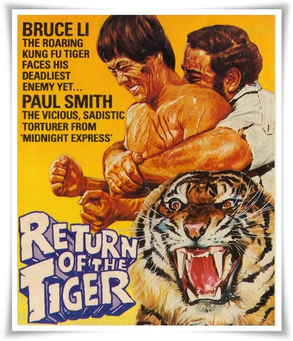 Öteki Sinema Sunar: Bruce Li Return of the Tiger (1978) 1 – RETURN OF THE TIGER