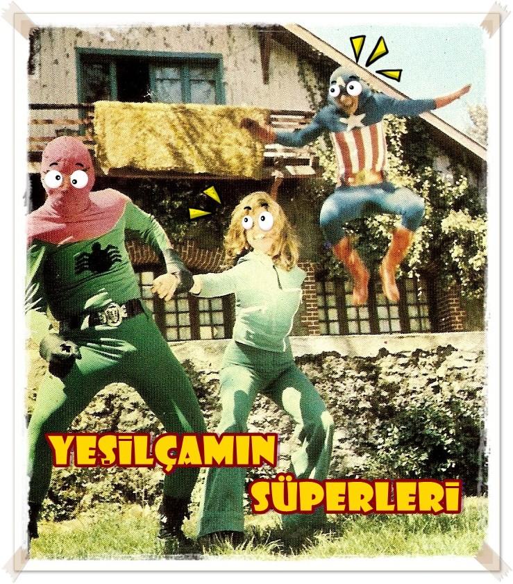 Yeşilçamlı Süper Kahramanlar 1 – 3 dev adam 2
