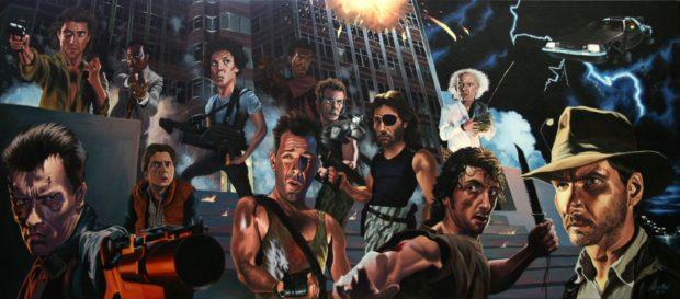 80'lerde Hollywood'u Anlamak... 1 – 80s action heroes