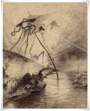 Bilimin Tanrıları ve İnsanların Şeytanları 1 – War of the Worlds Fighting Machine by Alvim Correa