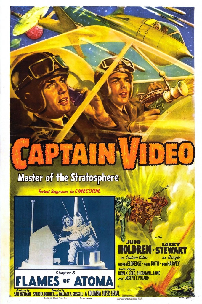 Captain Video, Master of the Stratosphere 1 – captain video poster 01