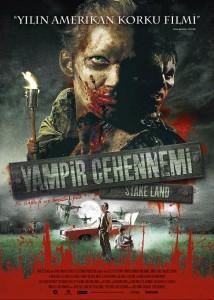 Stake Land / Vampir Cehennemi (2010) 1 – Vampir Cehennemi Filmi Turkce Afisi