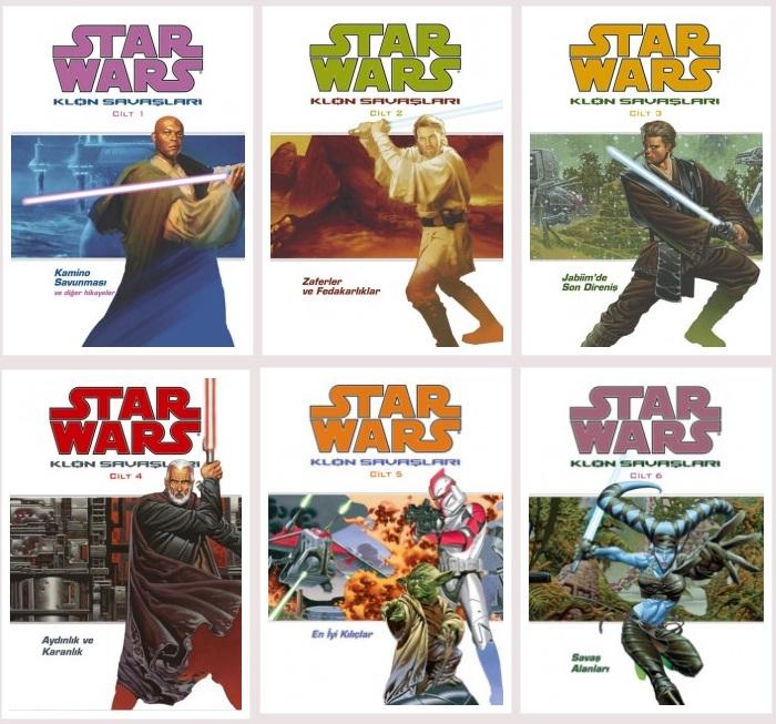 JBC Yayıncılık Sunar: Klon Savaşları 1 – star wars set