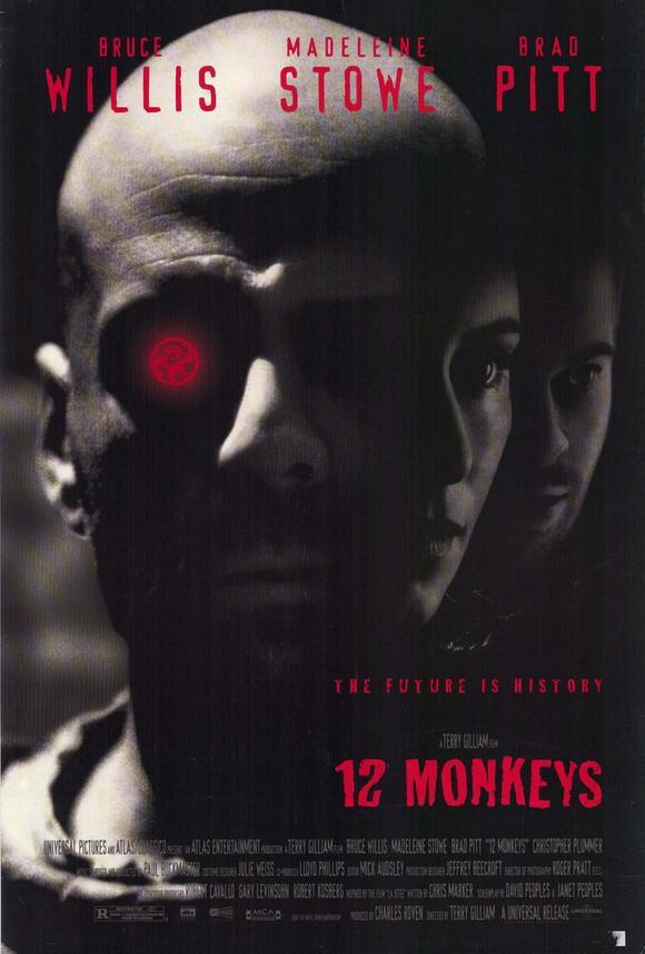 Twelve Monkeys / 12 Maymun (1995) 1 – twelve monkeys