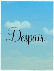 Despair (2010) 1 – despair poster