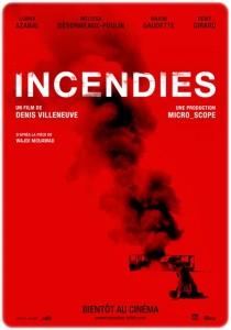 Incendies poster