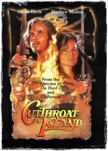 Cutthroat Island poster