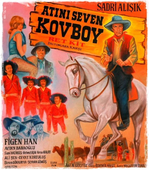 Atını Seven Kovboy Poster