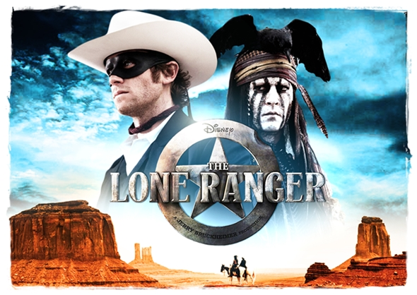 The Lone Ranger poster 1