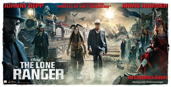 The Lone Ranger poster 2