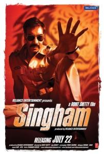 Singham poster 1