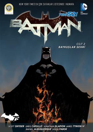 Batman Baykuslar Sehri Kapak - kucuk