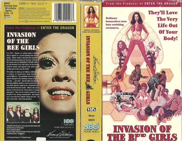 Invasion of the Bee Girls VHS kapak 1