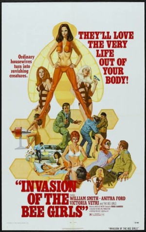 Invasion of the Bee Girls poster 1
