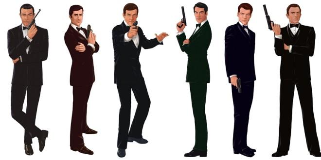 32 Kısım Tekmili Birden: James Bond Açılış Jenerikleri 1 – 007 James Bond
