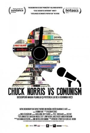 Chuck Norris vs. Communism poster 1