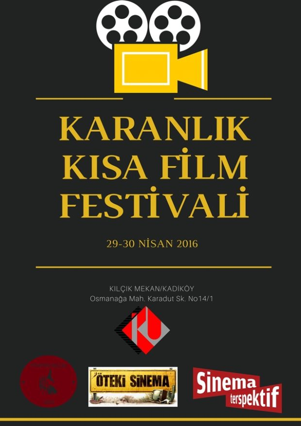 Karanlık Kısa Film Festivali afiş