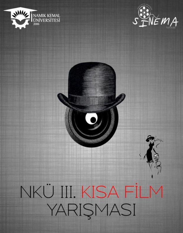 NKÜ III Kısa Film Yarışması afiş