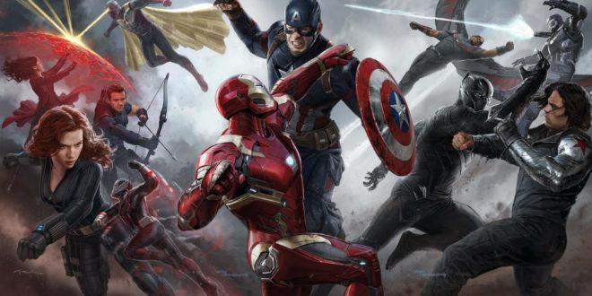 Captain America: Civil War (2016) 1 – captain america civil war art