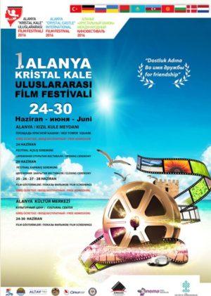 Alanya Kristal Kale Uluslararası Film Festivali afiş