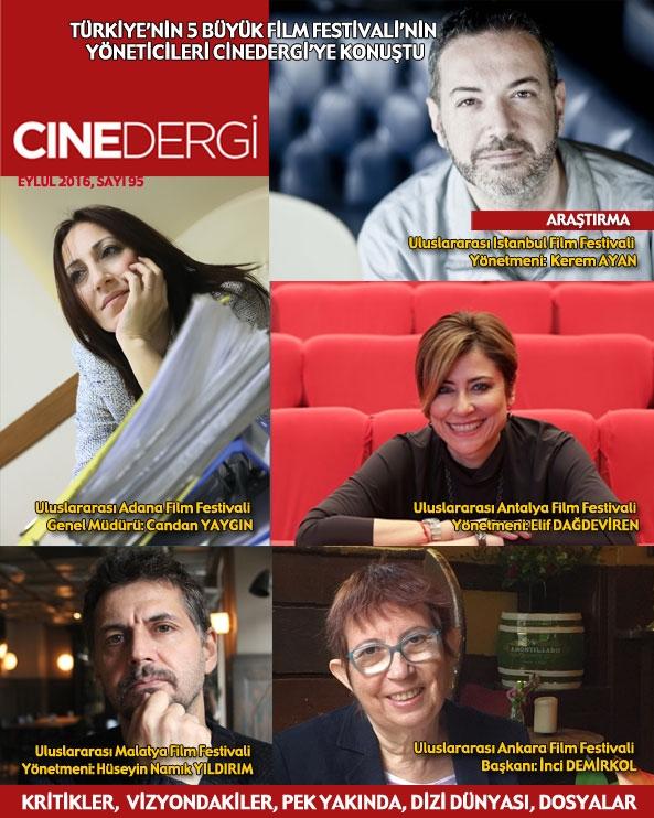 CineDergi Eylül 2016 kapak