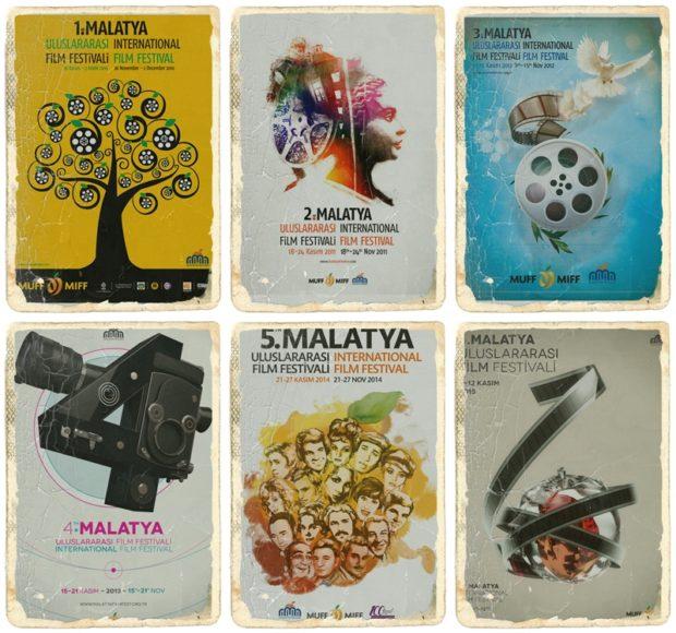 Malatya Film Festivali Posterleri