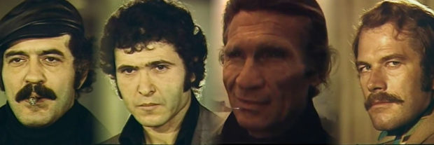 Dört Koldan İntikam: Dört Hergele (1974) 1 – dörthergelekapak