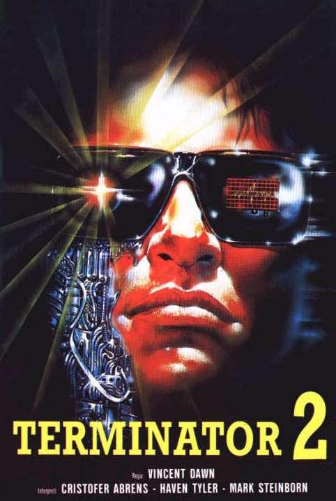 Terminator 2'den Önceki Terminator 2: Shocking Dark (1989) 1 – shocking dark poster