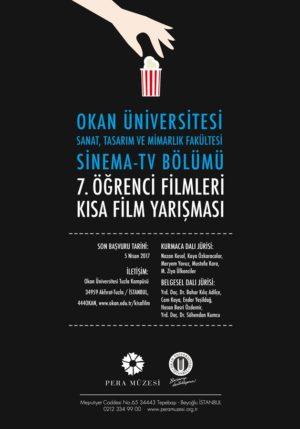 Okan Üniversitesi Öğrenci Filmleri Kısa Film Yarışması 1 – Okan Üniversitesi Öğrenci Filmleri Kısa Film Yarışması afiş