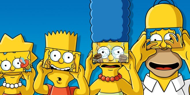 Amerikan Rüyasına Muhalif: The Simpsons 1 – The Simpsons banner