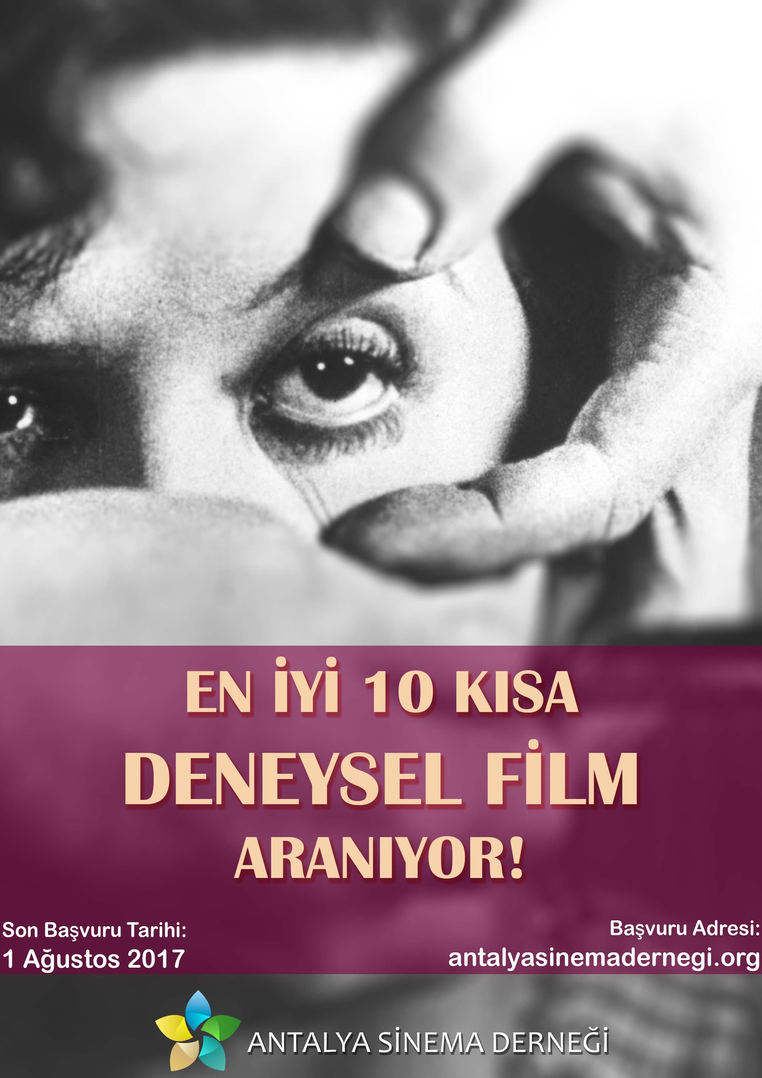 'En İyi 10 Kısa Deneysel Film' Aranıyor! 1 – en iyi 10 deneysel afiş