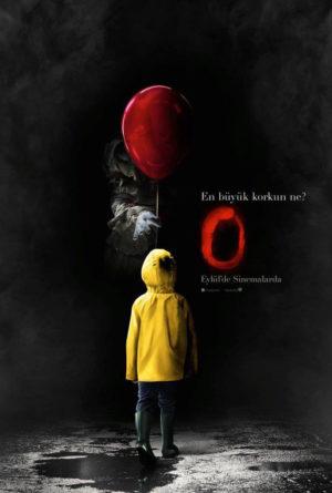 O / It Hakkında Merak Ettiğiniz Her Şey 1 – It Stephen King O poster