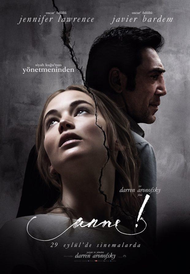 "Darren Aronofsky'nin Yeni Filmi ""anne!""den Afiş 1 – Mother anne poster"