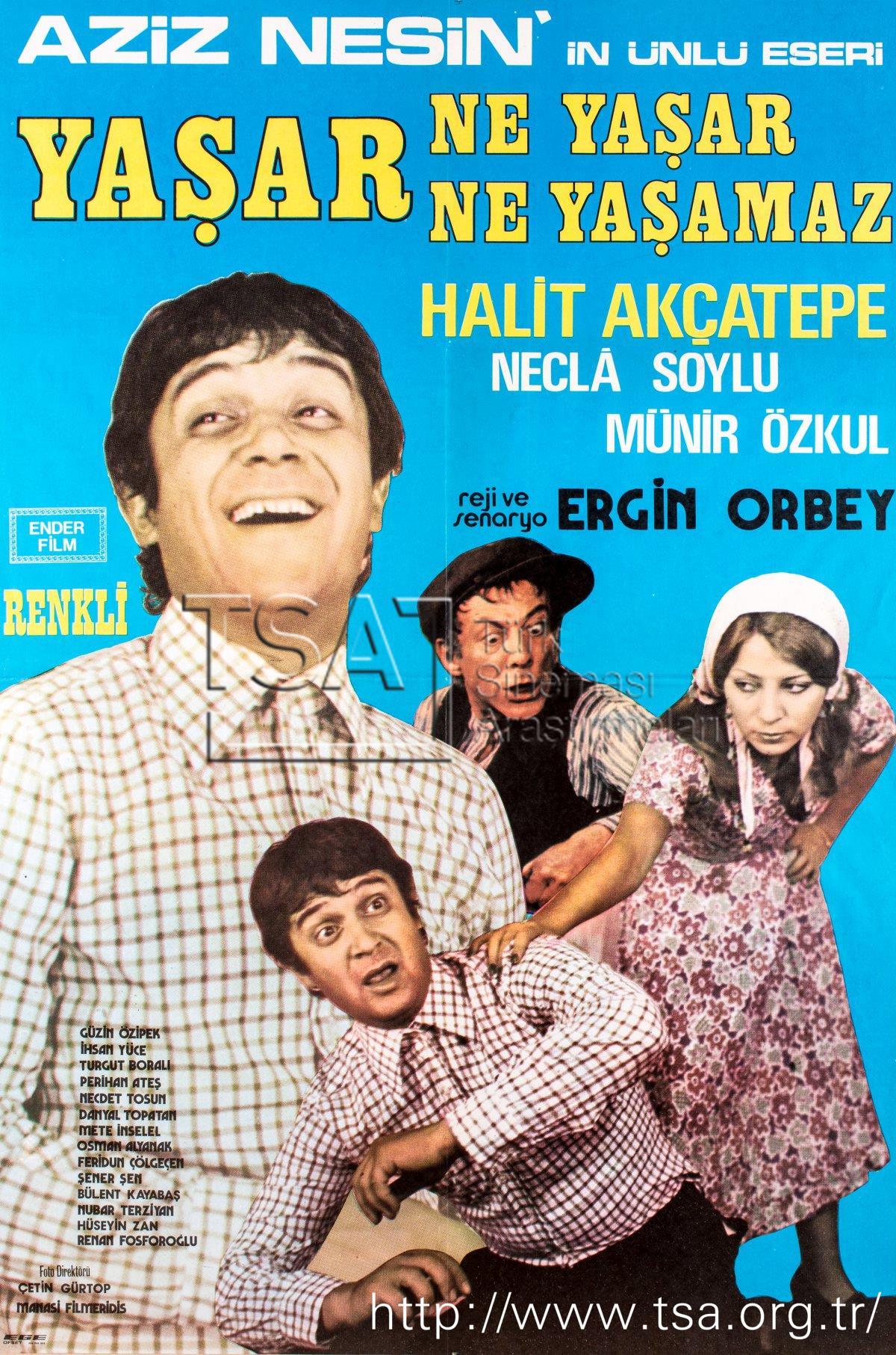 Bürokrasinin Labirentlerinde: Yaşar Ne Yaşar Ne Yaşamaz (1974) 1 – ynynykapak