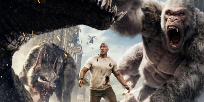 Büyük Beyaz Goril Saldırıyor: Rampage (2018) 1 – Rampage 1 999x562