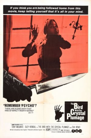 The Bird with the Crystal Plumage (1970) 2 – The Bird with the Crystal Plumage poster