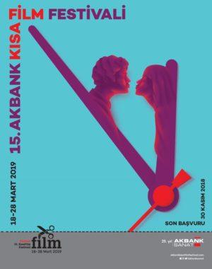 15. Akbank Kısa Film Festivali Başvuruları Başladı 1 – 15. Akbank Kısa Film Festivali poster