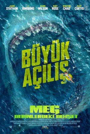 Büyük Açılış: Meg Derinlerdeki Dehşet 1 – Meg poster