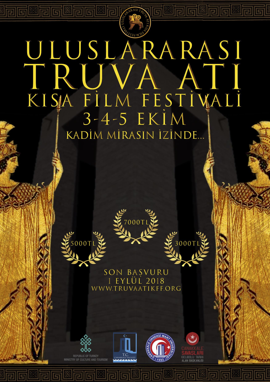 Truva Atı Kısa Film Festivali'ne Başvurun! 1 – TRUVA ATI KISA FİLM FESTİVALİ AFİŞİ