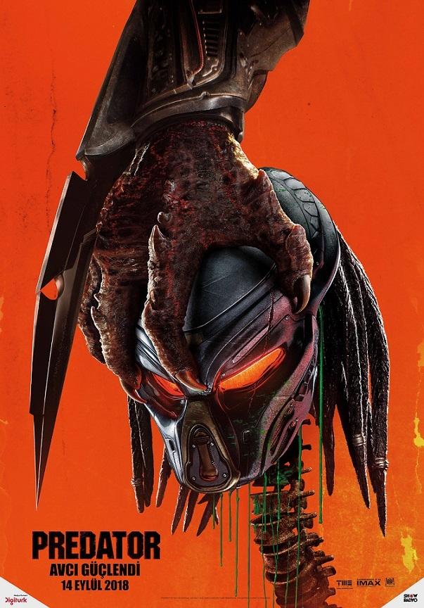The Predator Yeni Teaser Poster ve Fragman 1 – The Predator poster