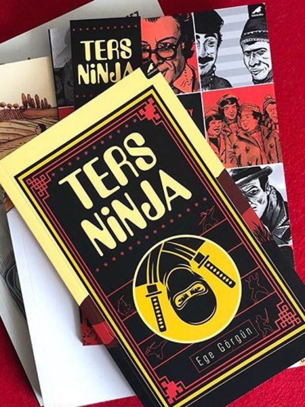 Ege Görgün'ün Ters Ninja Adlı Kitabı Raflarda 1 – Ege Görgün Ters Ninja ilan