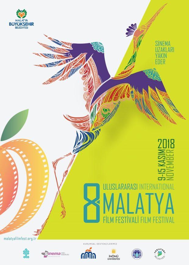 8. Malatya Film Festivali'nin Yarışma Filmleri Açıklandı 1 – 8 Malatya Film Festivali afiş