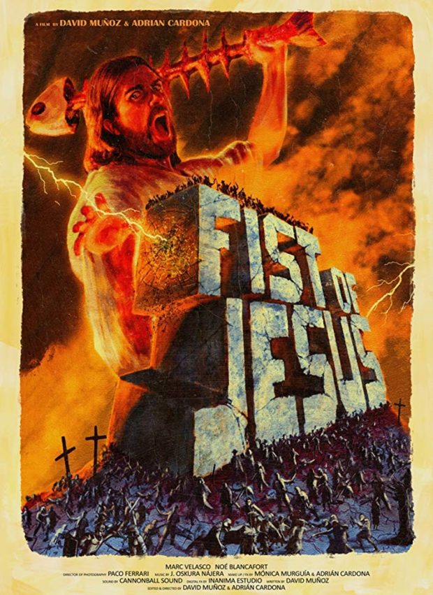 İspanya'dan 2 Kısa: Kollar Bacaklar Havaya 3 – Fist of Jesus poster