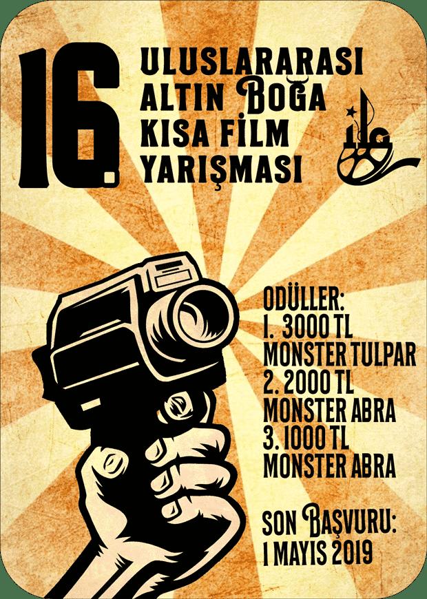 16. Uluslararası Altın Boğa Kısa Film Yarışması 1 – 16 Altın Boğa Kısa Film Yarışması afiş