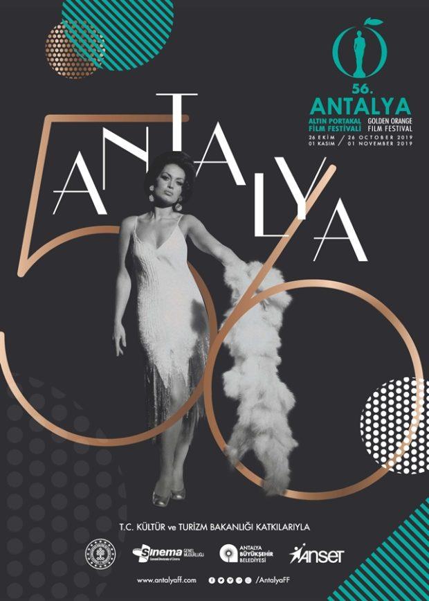 56. Antalya Altın Portakal Film Festivali'ne Başvurular Başladı 1 – Antalya Altın Portakal Film Festivali 2019 Poster